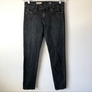 AG slim straight ankle jeans size 28